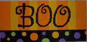 Halloween Needlepoint<BR>Boo