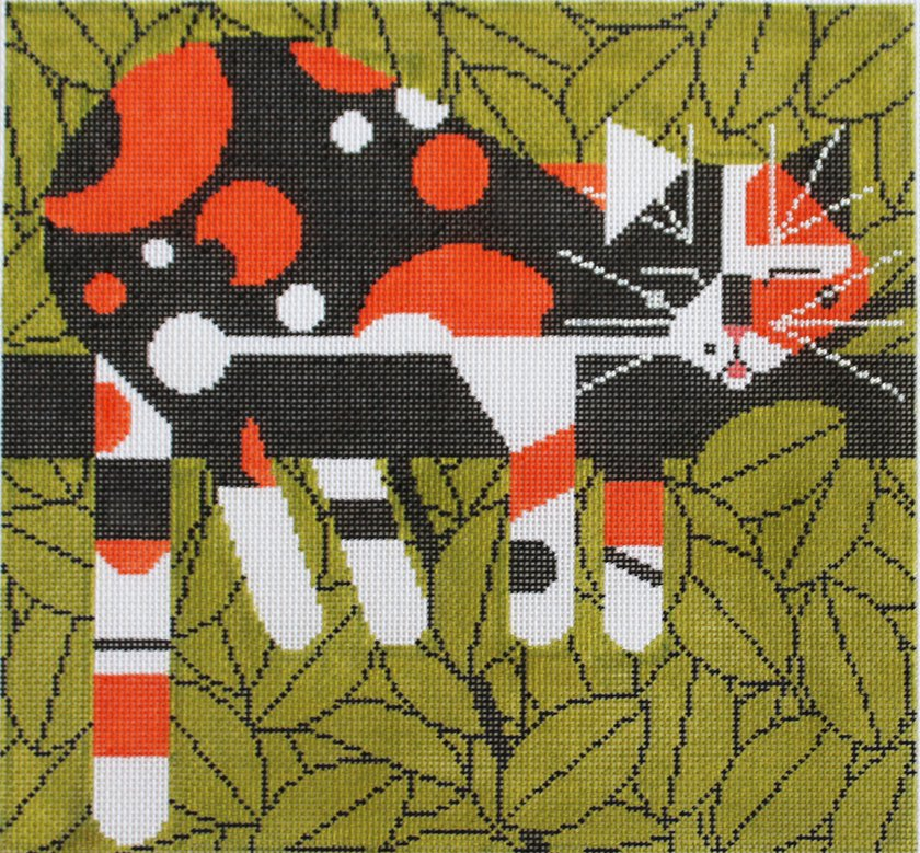 Charley Harper Needlepoint Limp On A Limb