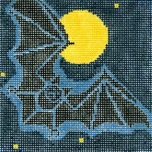 Charley Harper Needlepoint Bat