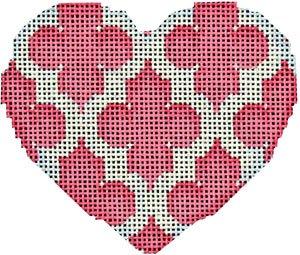Quadrefoil Heart - pink