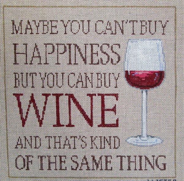 Sandra Gilmore Needlepoint Buy Wine