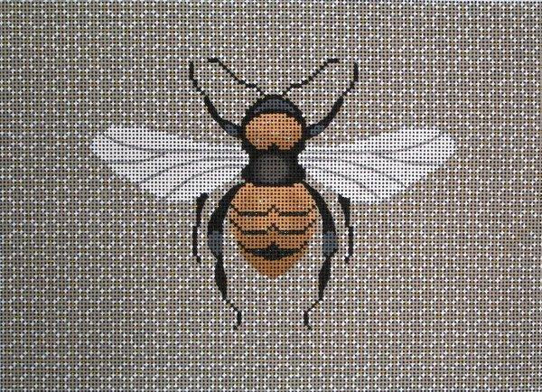 JP Needlepoint<BR>Bee