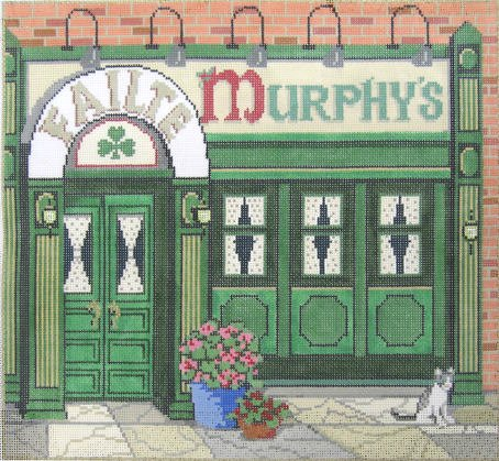 Murphy's Bar Needlepoint