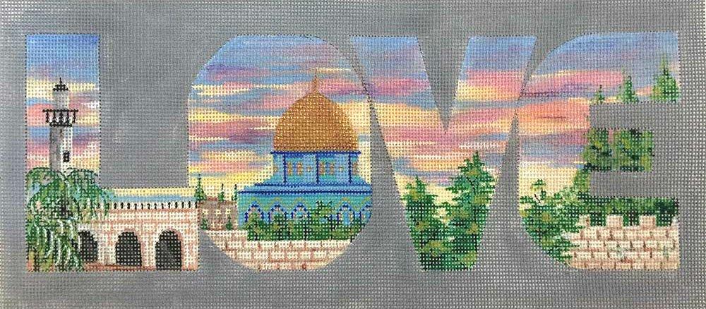 Israel Love Needlepoint