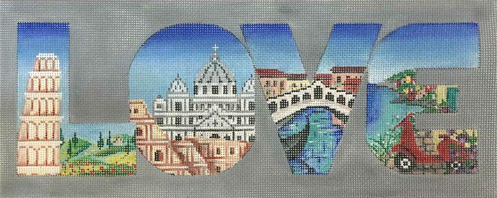 Italy Love Needlepoint