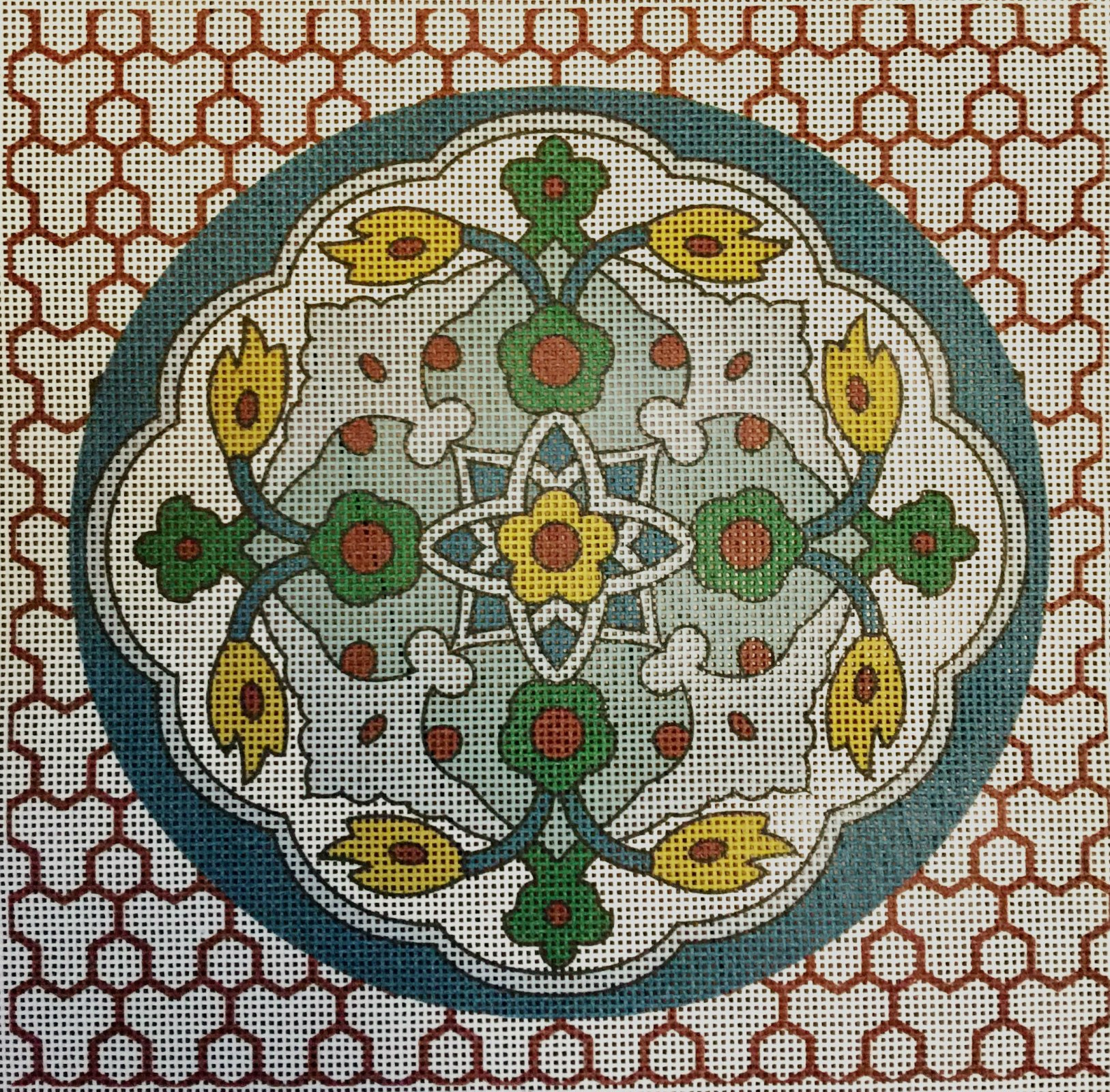 Iznik Ceramic on Lattice