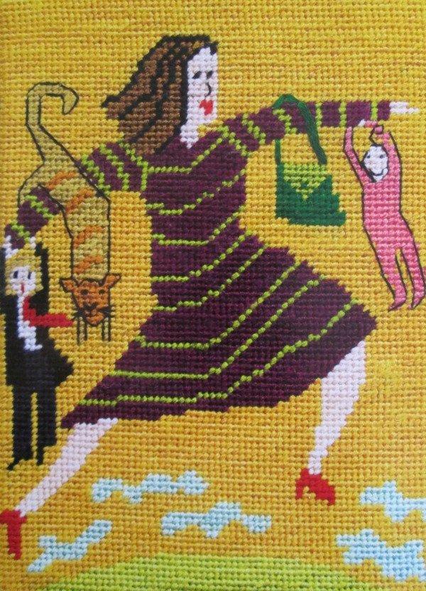 Jennifer Pudney Needlepoint The Incredible Woman