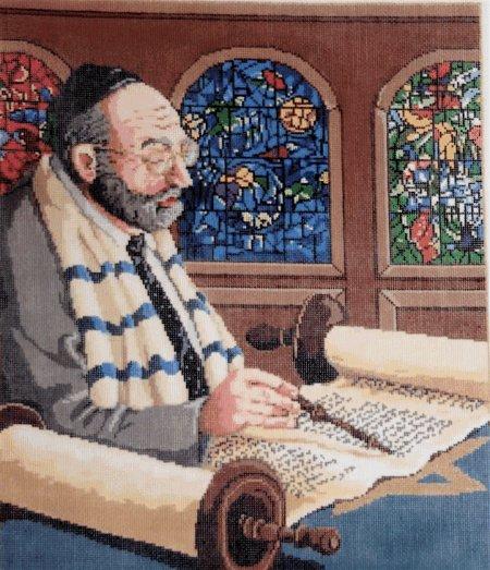 Judaic Needlepoint<BR>Heritage