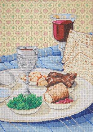 Judaic Needlepoint<BR>Passover