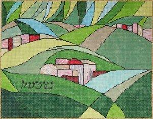 Judaic Needlepoint<BR>Simeon