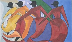 African Dancers by Prince Duncan-Williams
