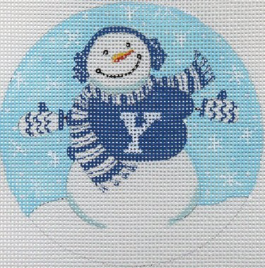 Collegiate Ornament - Snowman