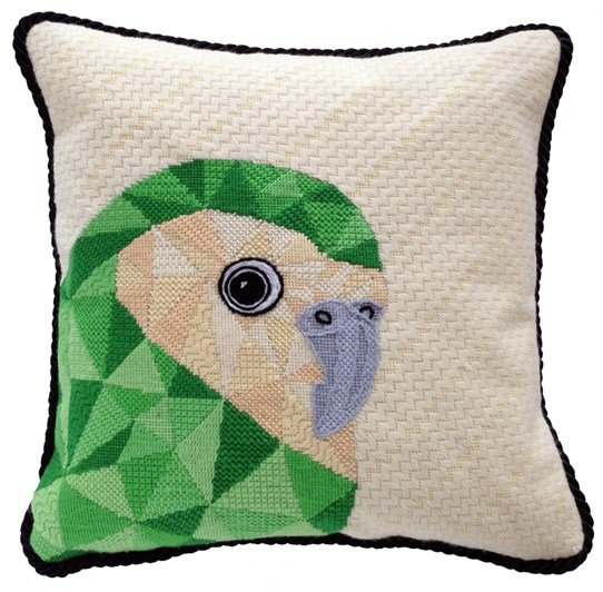 Kakapo Contemporary Needlepoint Kit