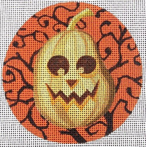 Halloween Needlepoint<BR>Bert O'Lantern