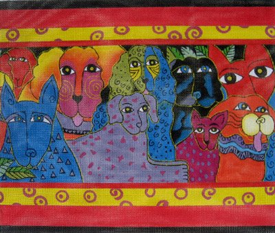 Canine Clan by Laurel Burch