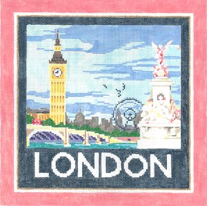London Needlepoint By Sandra Gilmore