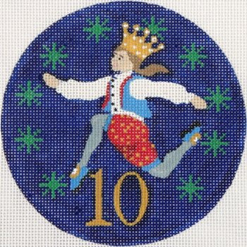 10 Lords a Leaping ornament