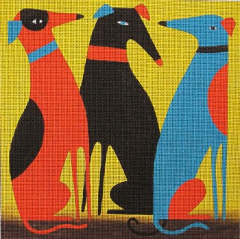 Greyhounds by Terry Runyan
