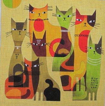 Cat Herd by Terry Runyan