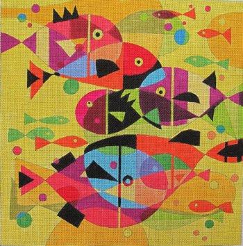 Aquatic Rainbow by Terry Runyan