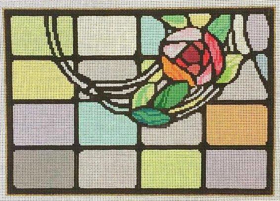 Mackintosh Stained Glass Needlepoint