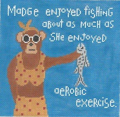 Madge and Fishing