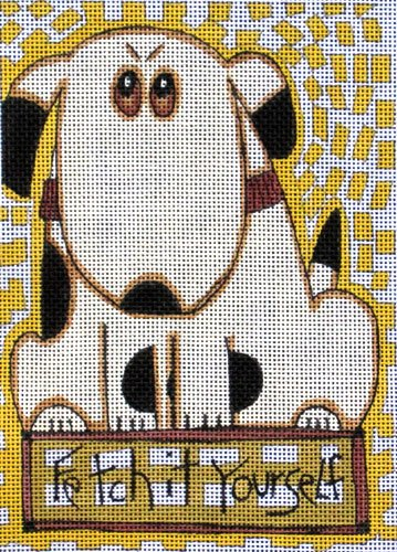 Maggie Needlepoint<BR>Fetch It Yourself
