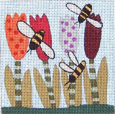 Maggie Needlepoint<BR>Filling Station