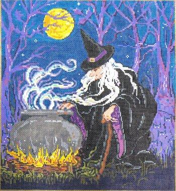 Halloween Needlepoint Magic Mischief