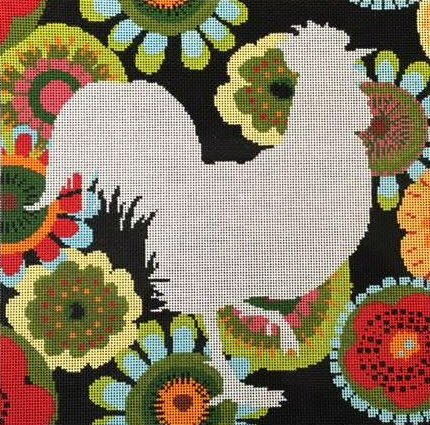 Paisley Rooster<BR>The Meredith Collection