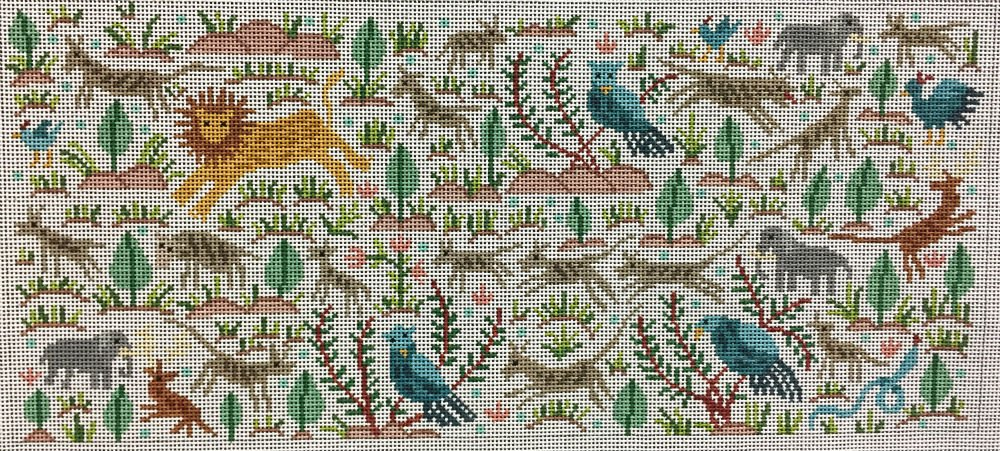 Animal Rug Needlepoint