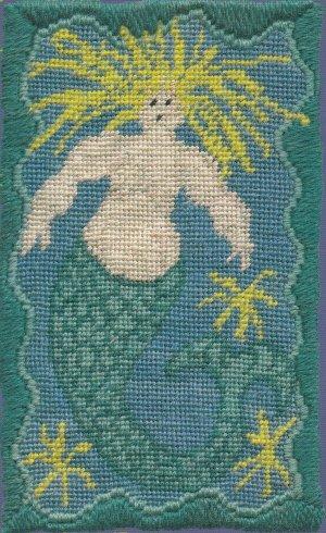 Mermaid Needlepoint Kit