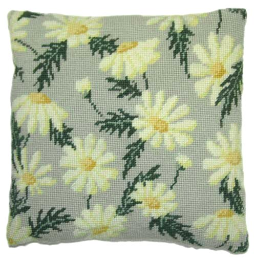 Needlepoint Pillow Kit Marguerite