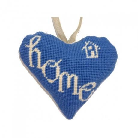 Needlepoint Ornament Heart Home