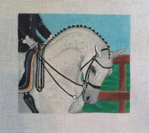 Dressage Horse Needlepoint