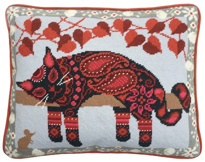 Painted Cat Needlepoint Kit