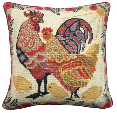Painted Chickens Needlepoint Kit