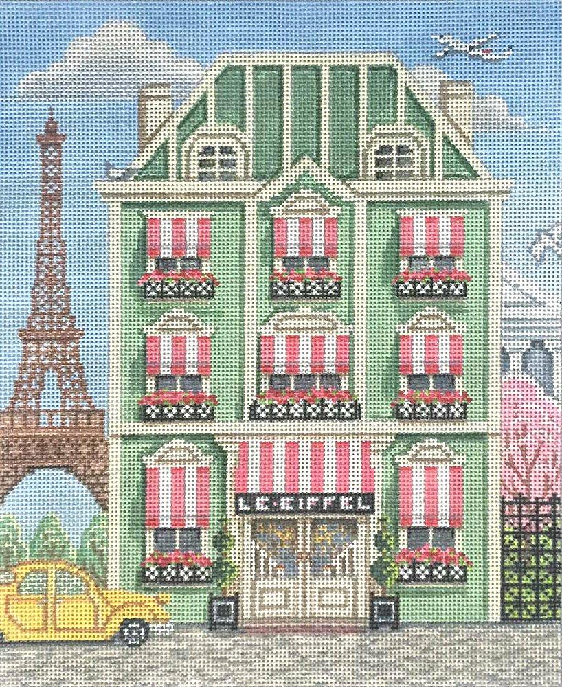 Paris Hotel Needlepoint