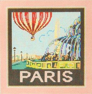 Paris Needlepoint By Sandra Gilmore