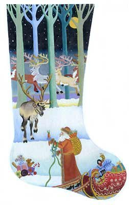 Passing out the Carrots Christmas Stocking - in stock
