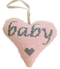 Baby Girl Lavender Heart kit