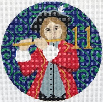 11 Pipers Piping ornament