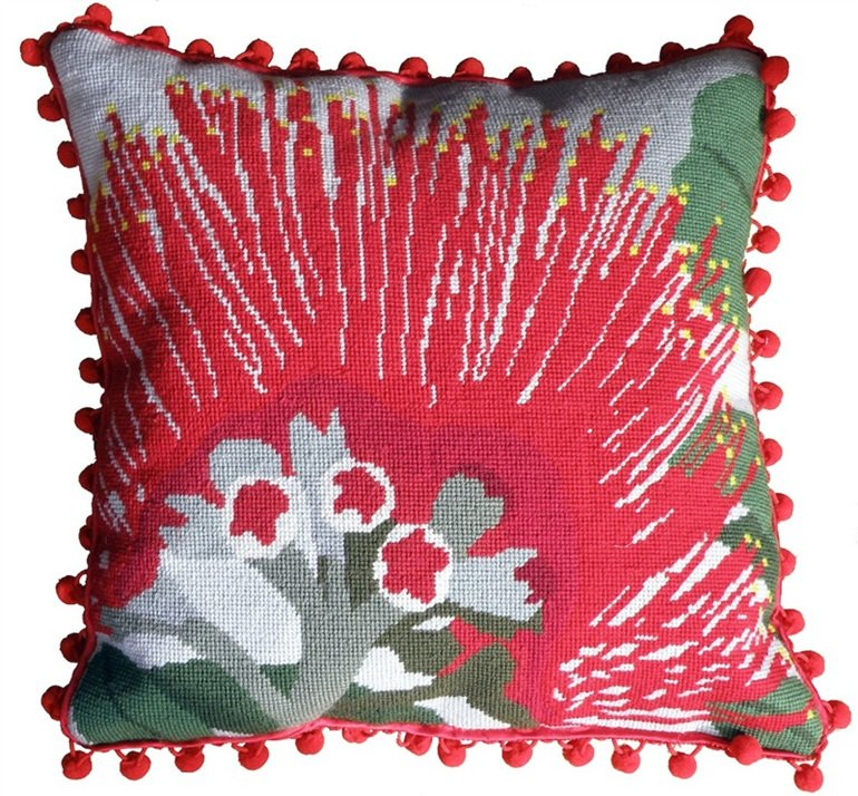 Pohutukawa Contemporary Needlepoint Kit