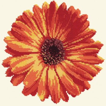 Blooms Pot Marigold tapestry kit by Elizabeth Bradley