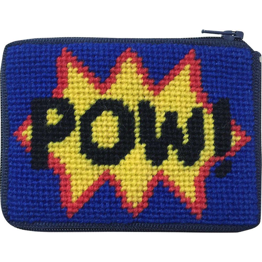 Beginner Needlepoint Kit Coin Purse POW