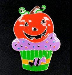 pumpkin cupcake needle buddies