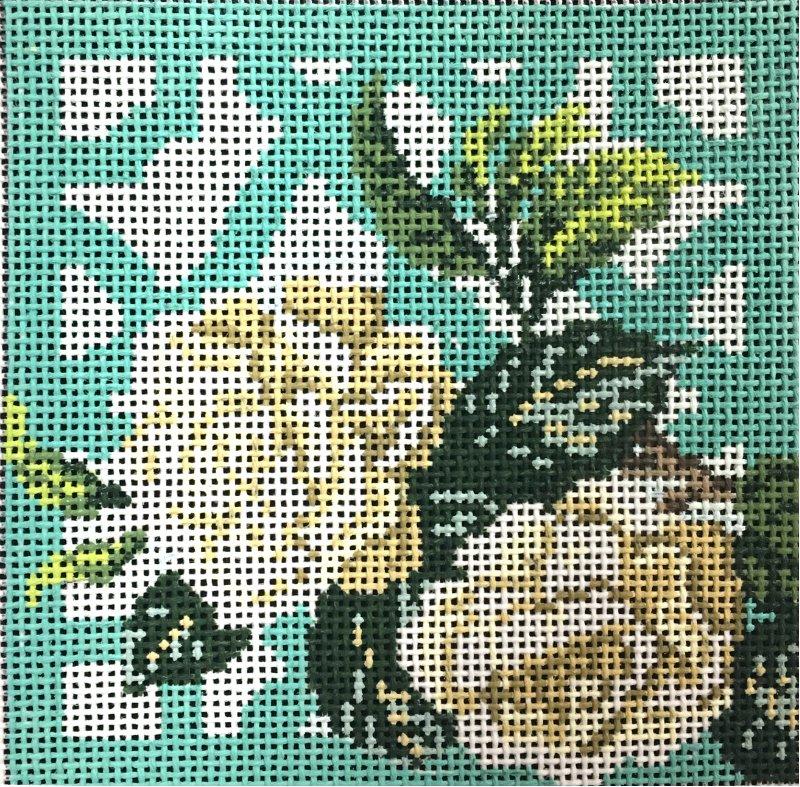 Gardenia Needlepoint Mini