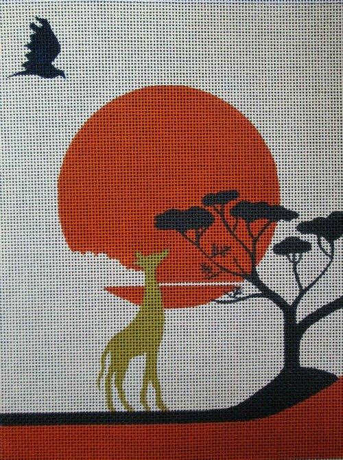 Sunset Safari Needlepoint