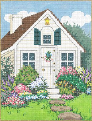 Sandra Gilmore Needlepoint<BR>Quaint
