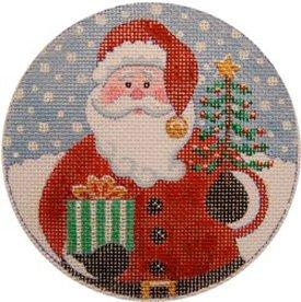 Santa's Gifts Christmas Ornament
